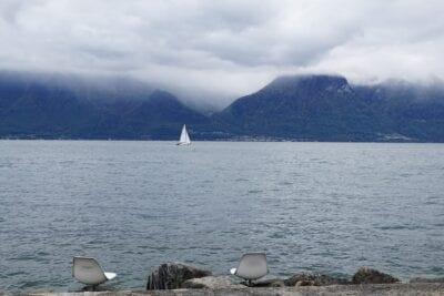 Vevey Suiza Lago De Ginebra Suiza
