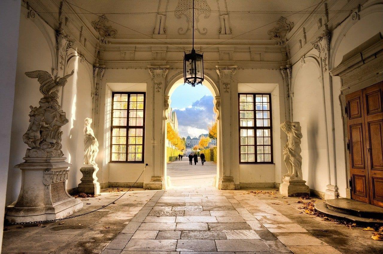 Viena Belvedere Entrada Austria