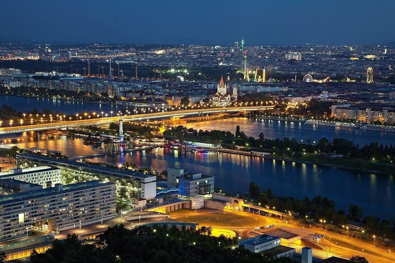 Viena Por La Noche Noche Austria
