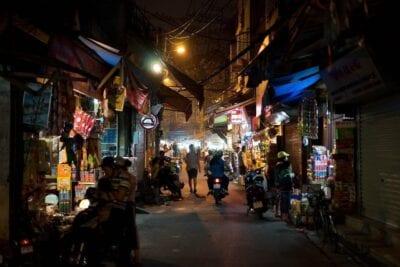 Vietnam Calle Hanoi Vietnam
