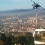 Vista de la ciudad desde Penha Guimarães Portugal