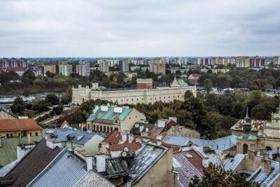 Vista De La Ciudad Lublin Turismo Polonia