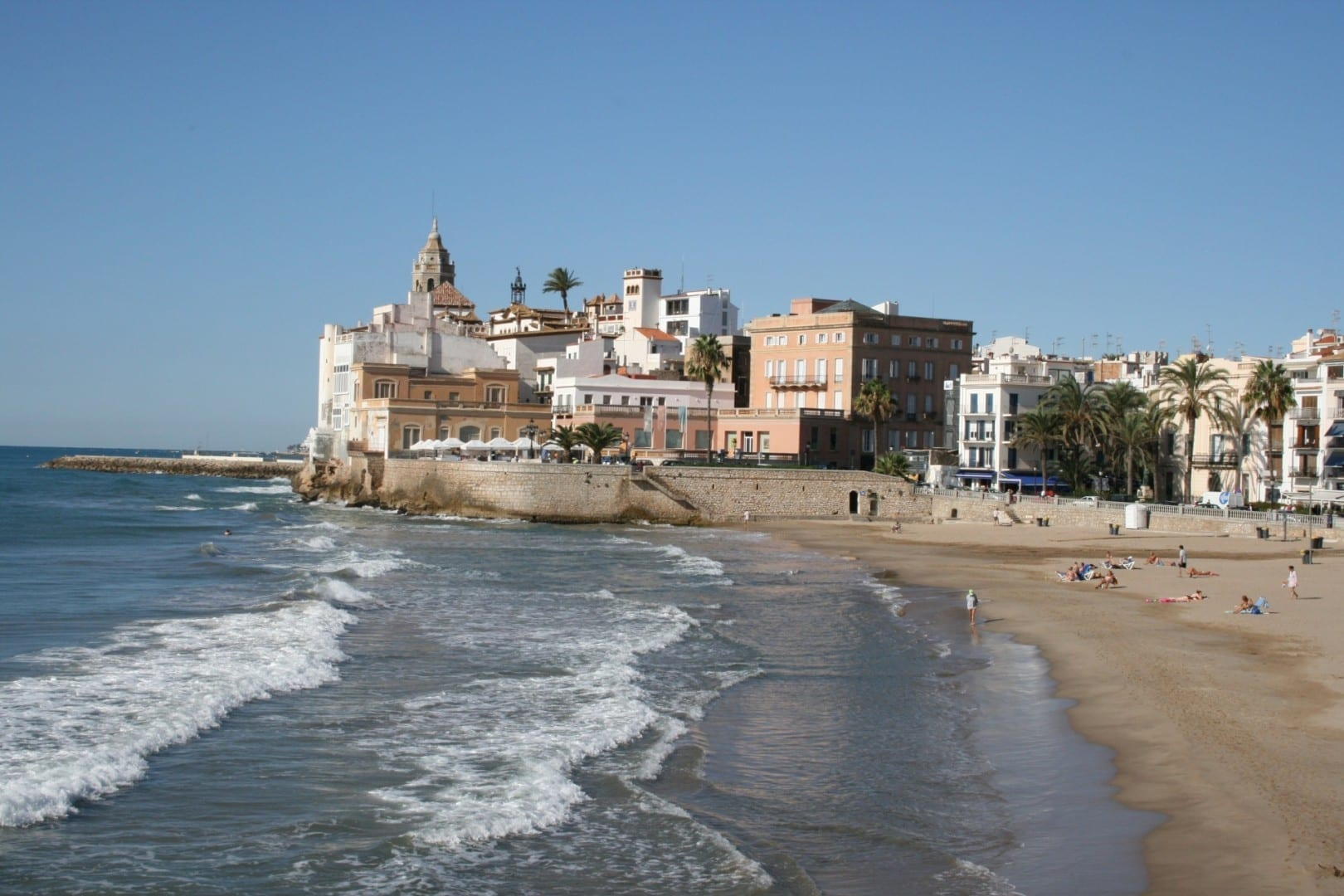 Vista de Sitges Sitges España