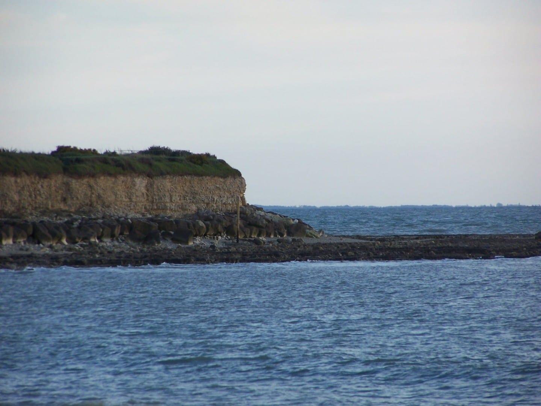 Vista del océano desde Les Minimes La Rochelle Francia
