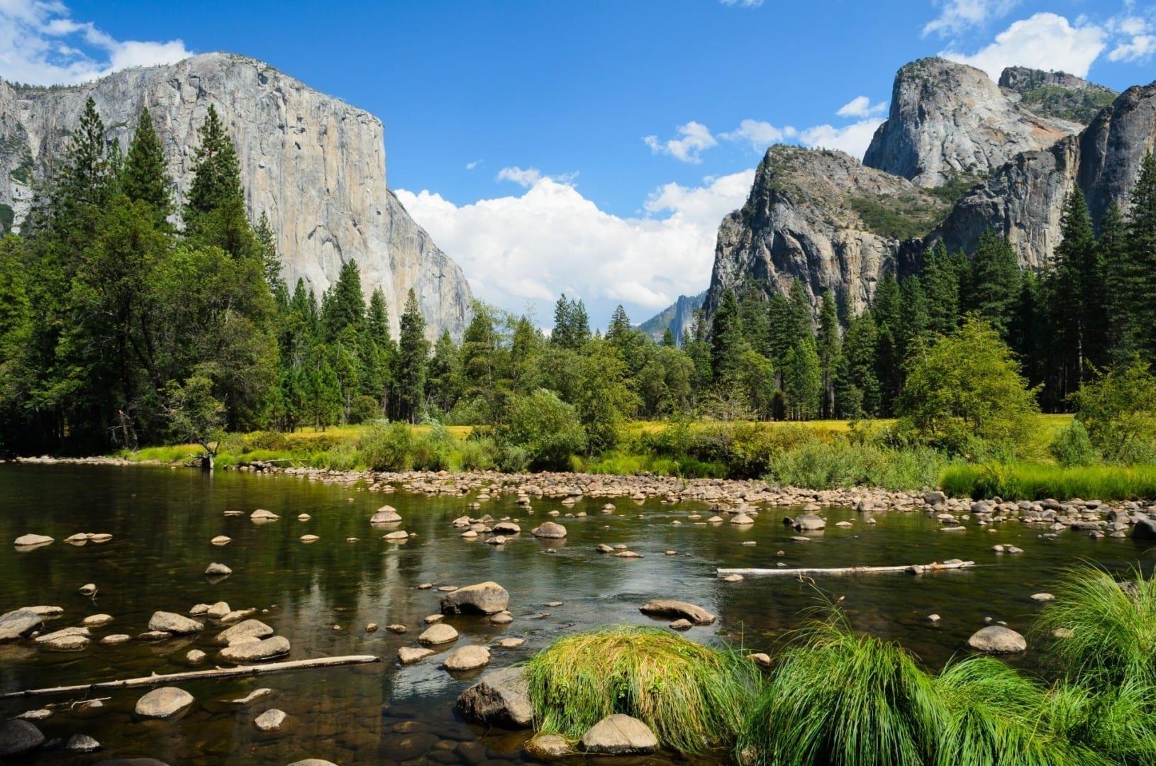 Vista del Valle de Yosemite Yosemite Parque Nacional CA Estados Unidos