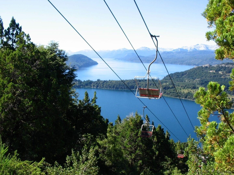 Vista desde el Cerro Campanario Bariloche Argentina