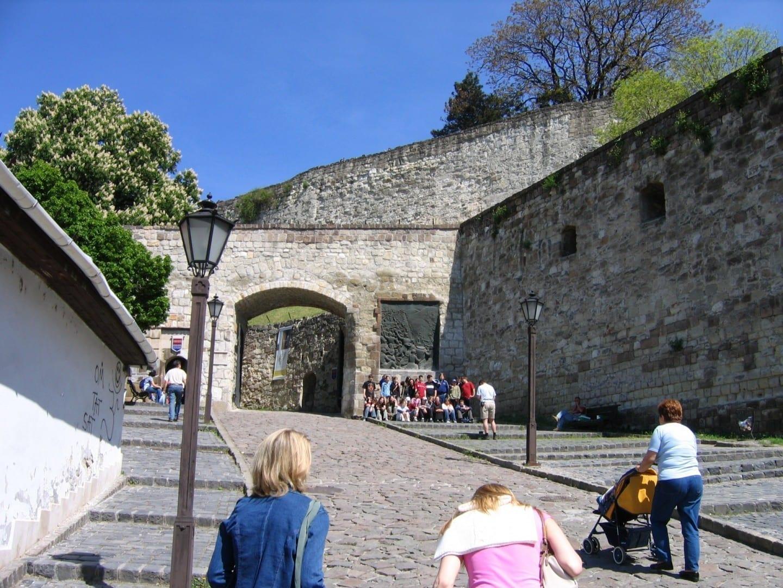 Vista panorámica del Castillo de Eger Eger Hungría