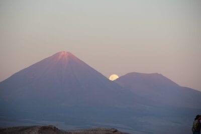 Volcan Licancabur San Pedro De Atacama Chile