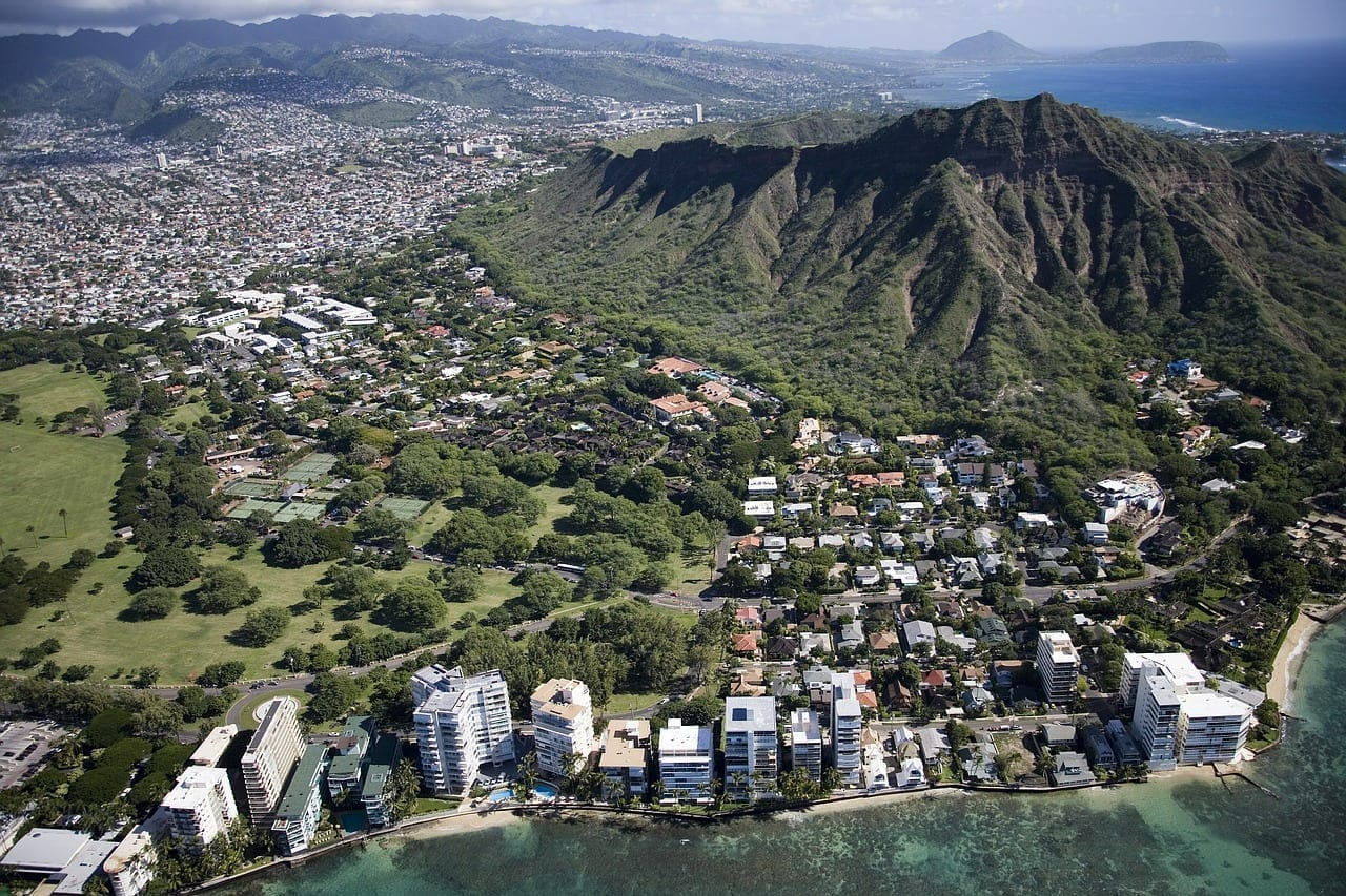 Waikiki Beach Hawaii Honolulu Estados Unidos