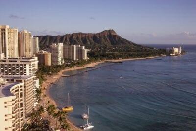 Waikiki Beach Honolulu Hawaii Estados Unidos