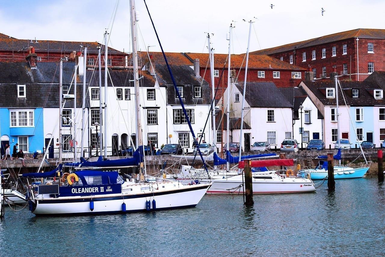 Weymouth Puerto Dorset Reino Unido