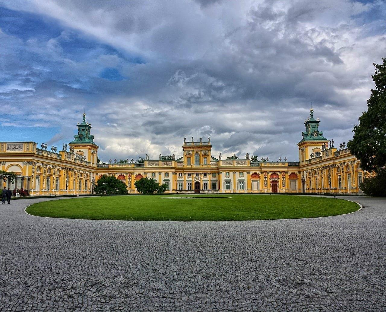 Wilanów El Palacio Varsovia Polonia