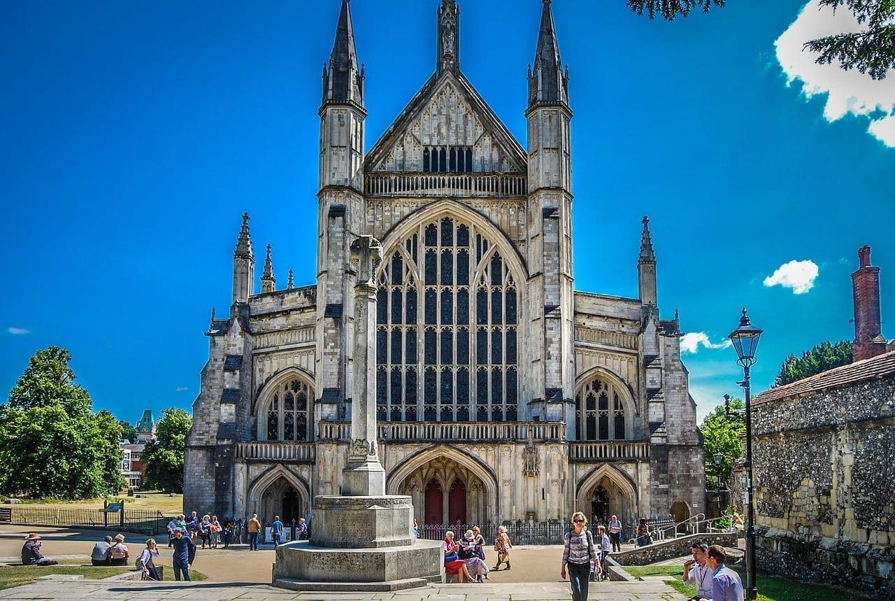 Winchester Catedral Histórico Reino Unido