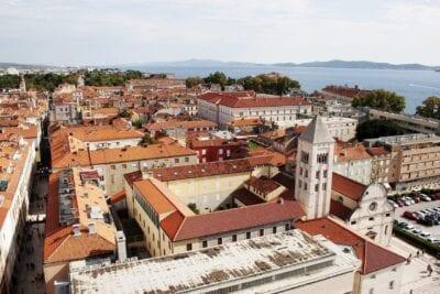 Zadar Ciudad Historia Croacia