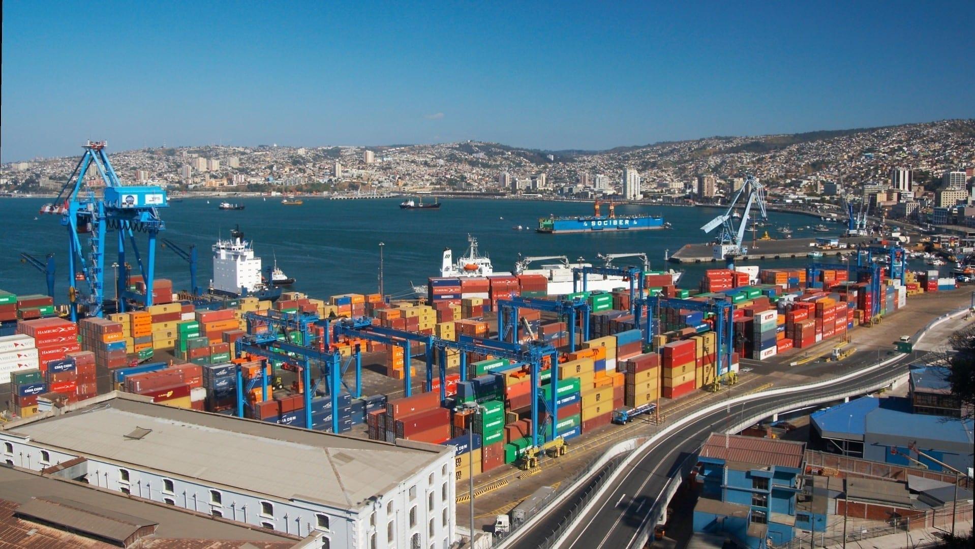 Zona portuaria de Valparaíso Valparaiso Chile