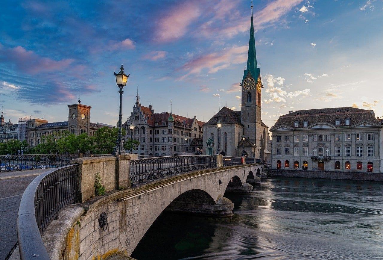 Zurich De La Ciudad Suiza Suiza