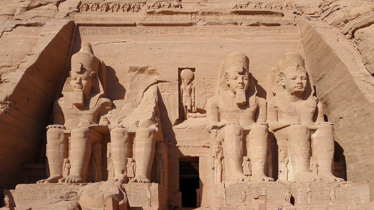 Abu Simbel Templo De La Roca Masiva Egipto