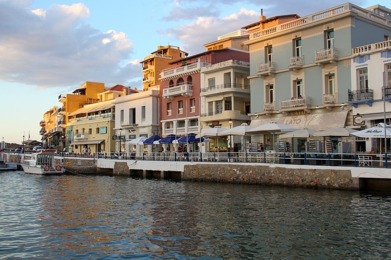 Agios Nikolaos Creta Mar Grecia