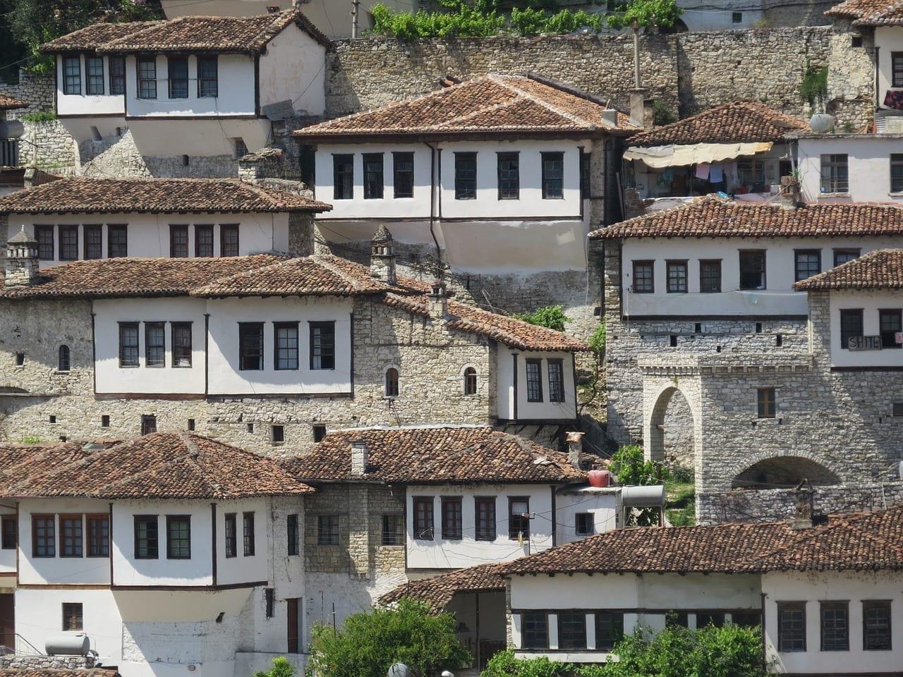 Albania Berat Arquitectura Albania