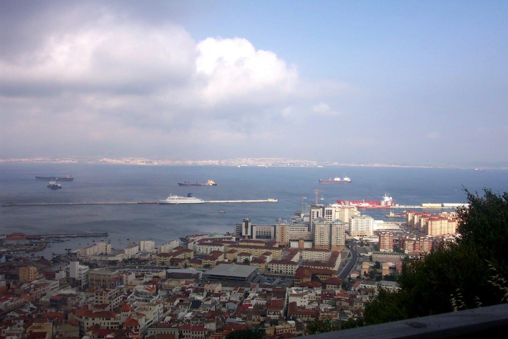 Algeciras vista desde Gibraltar Algeciras España