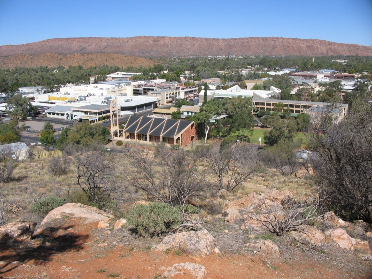 Alice Springs de Anzac Hill Alice Springs Australia