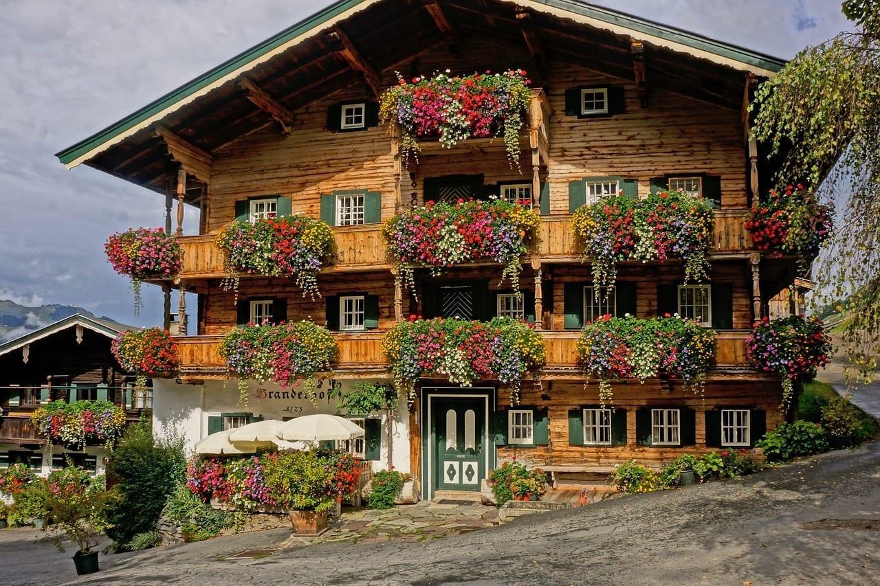 Alm Panorama Kitzbühel Austria