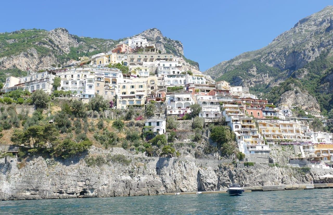 Amalfi Positano Pintoresco Italia