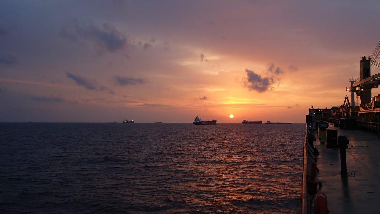 Anclaje Davao Barco Filipinas