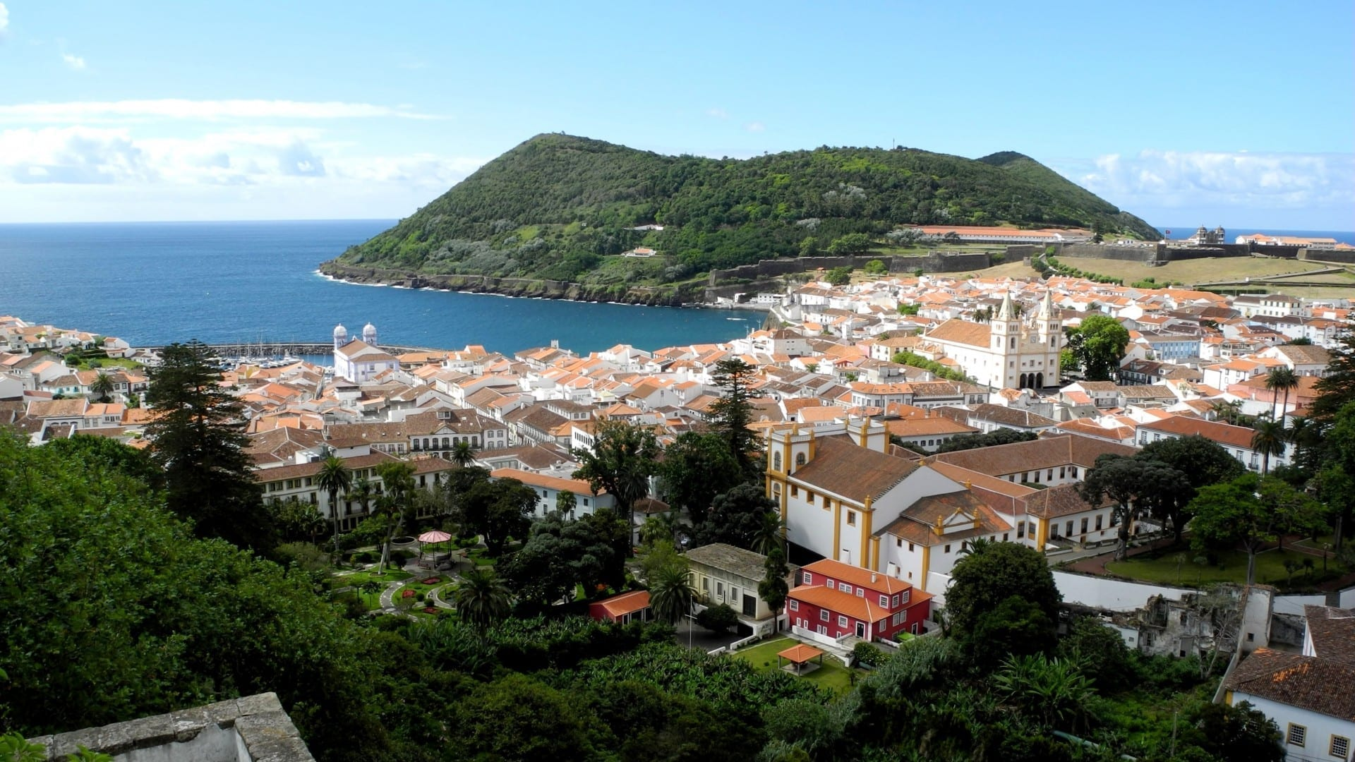 Angra do Heroísmo Isla Terceira Portugal