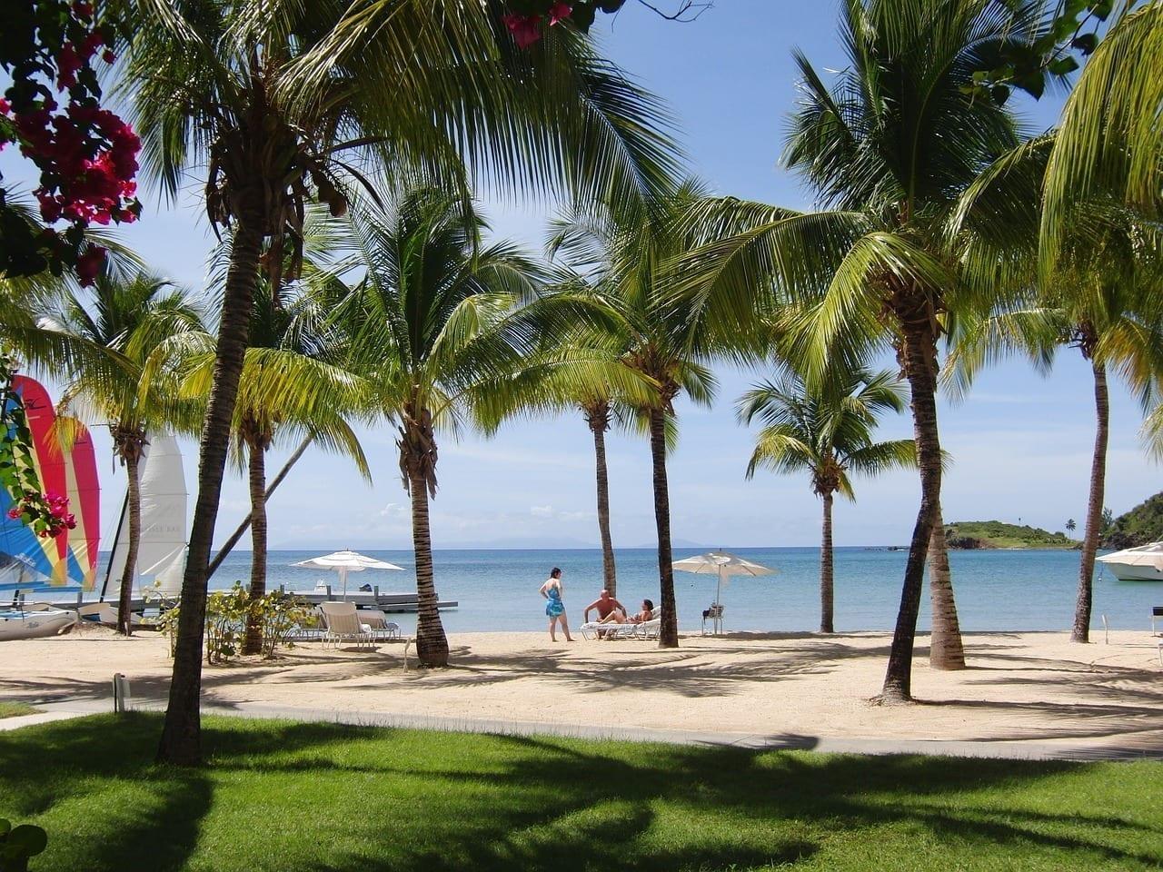 Antigua Bahía De Carlisle Caribe Reino Unido