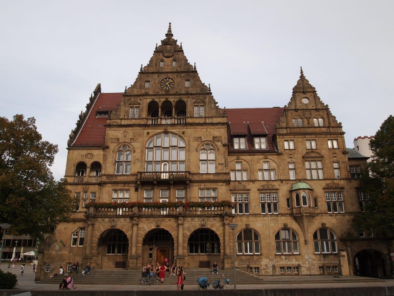 Antiguo Ayuntamiento (Altes Rathaus) Bielefeld Alemania