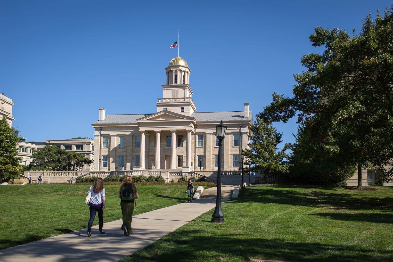 Antiguo edificio del Capitolio Iowa City IA Estados Unidos