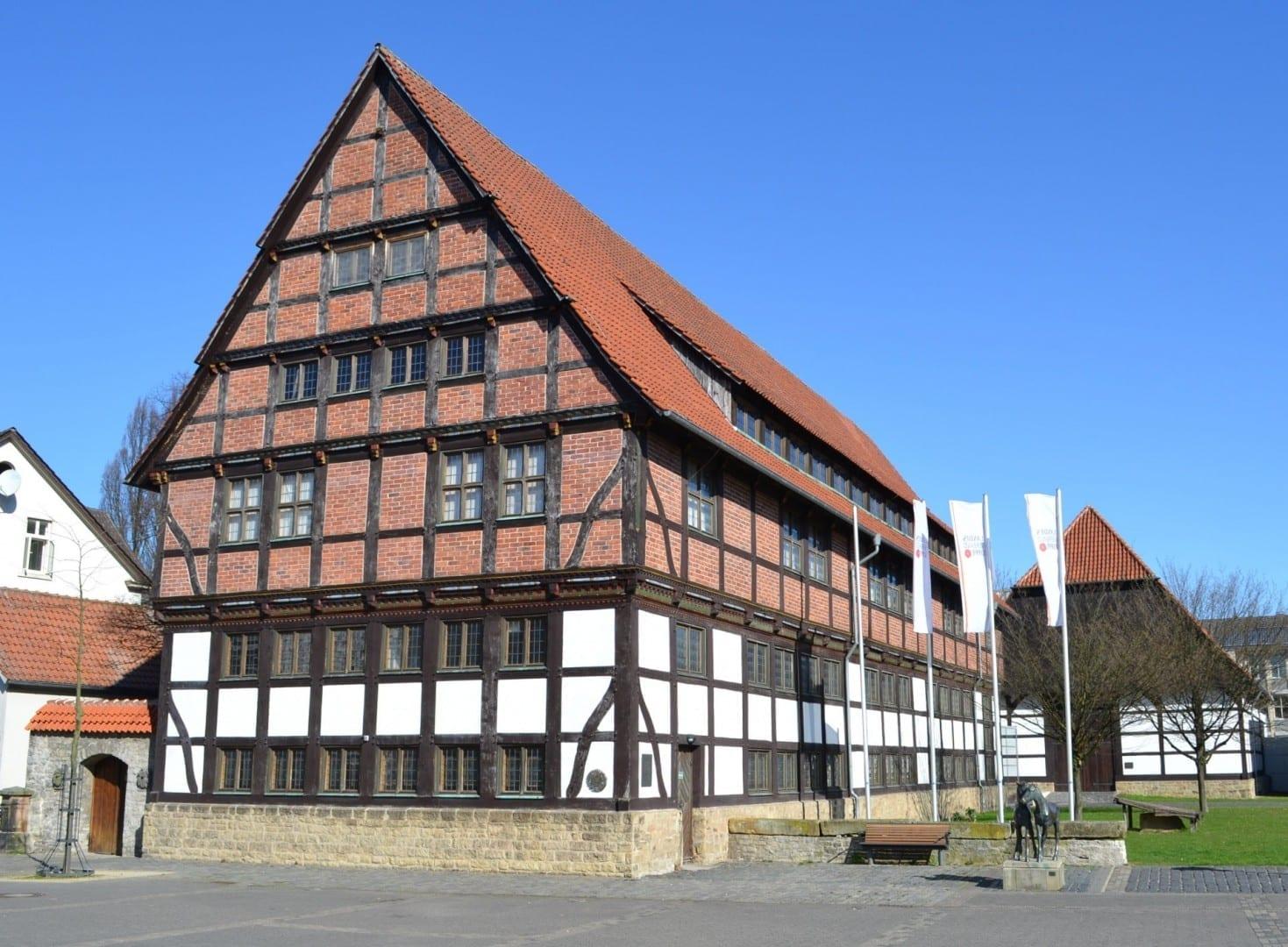 Antiguo granero/Landesmuseum Detmold Alemania