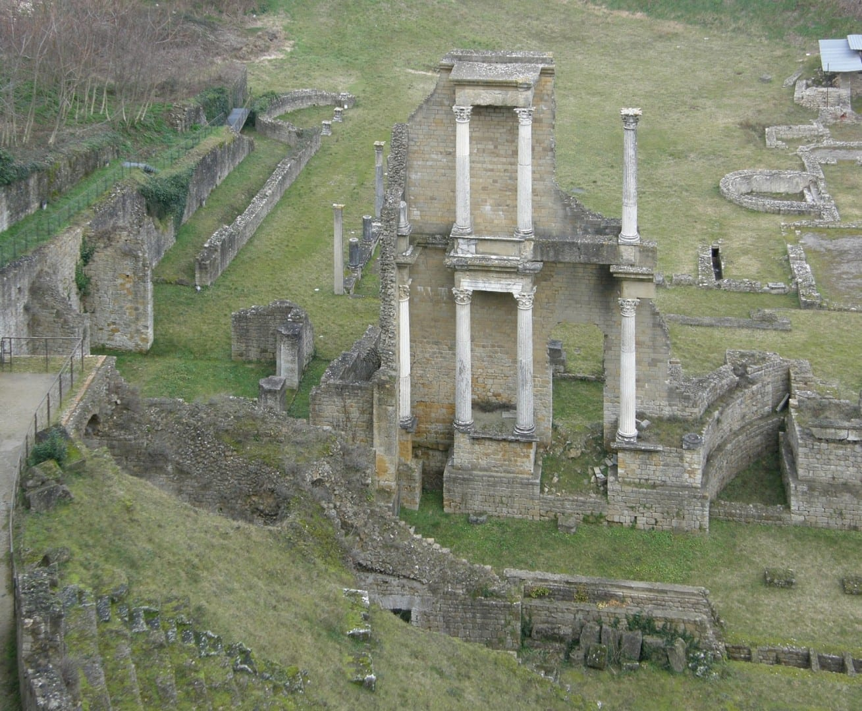 Antiguo Teatro Romano de Volterra Volterra Italia