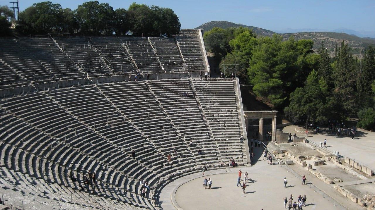 Arquitectura Grecia Epidauro Grecia