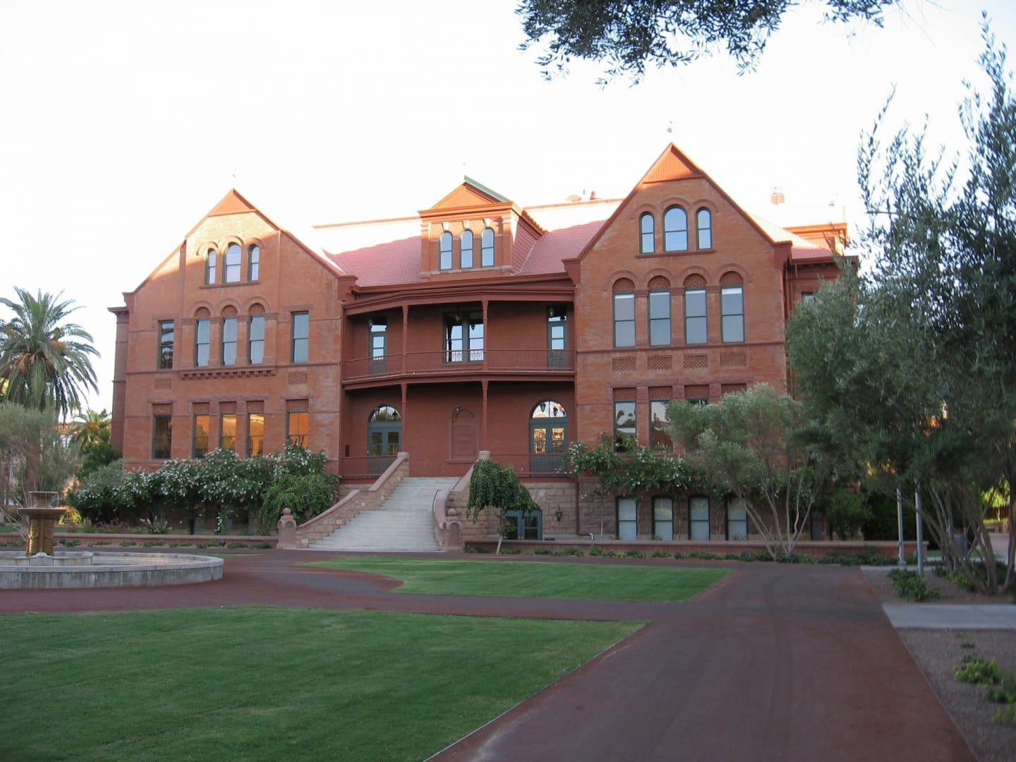 ASU's Old Main Tempe AZ Estados Unidos