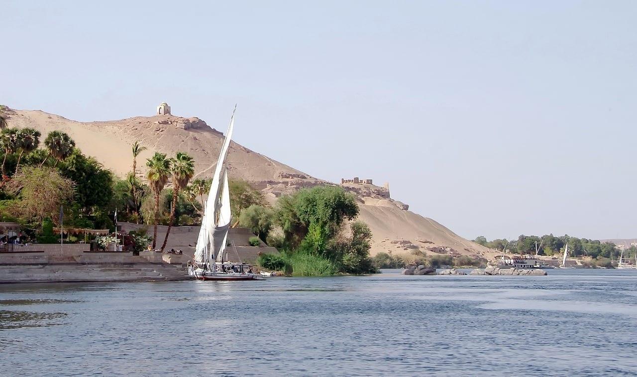Aswan Nilo La Isla Kitchener Canadá