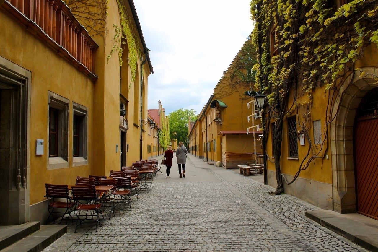 Augsburgo Fuggerei La Construcción De Alemania