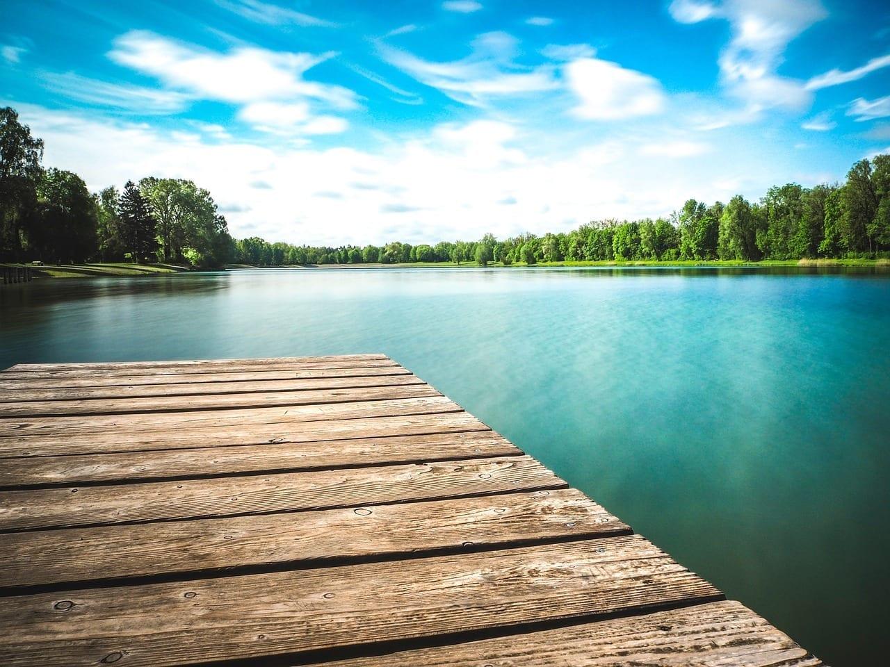 Augsburgo Lago Verano Alemania