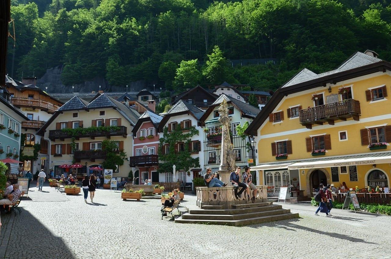 Austria Hallstatt Mayo De 2015 Austria