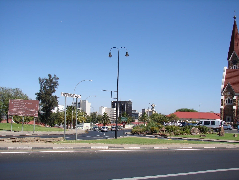 Avenida Robert Mugabe. Windhoek Namibia