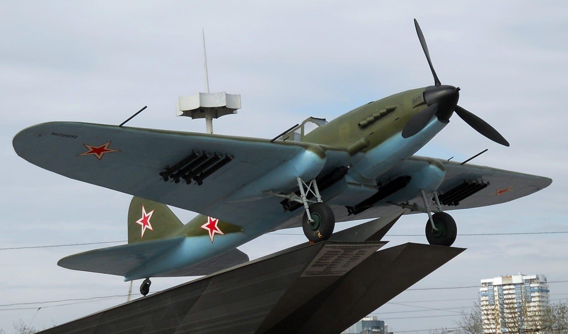Avión IL-2 Samara Rusia