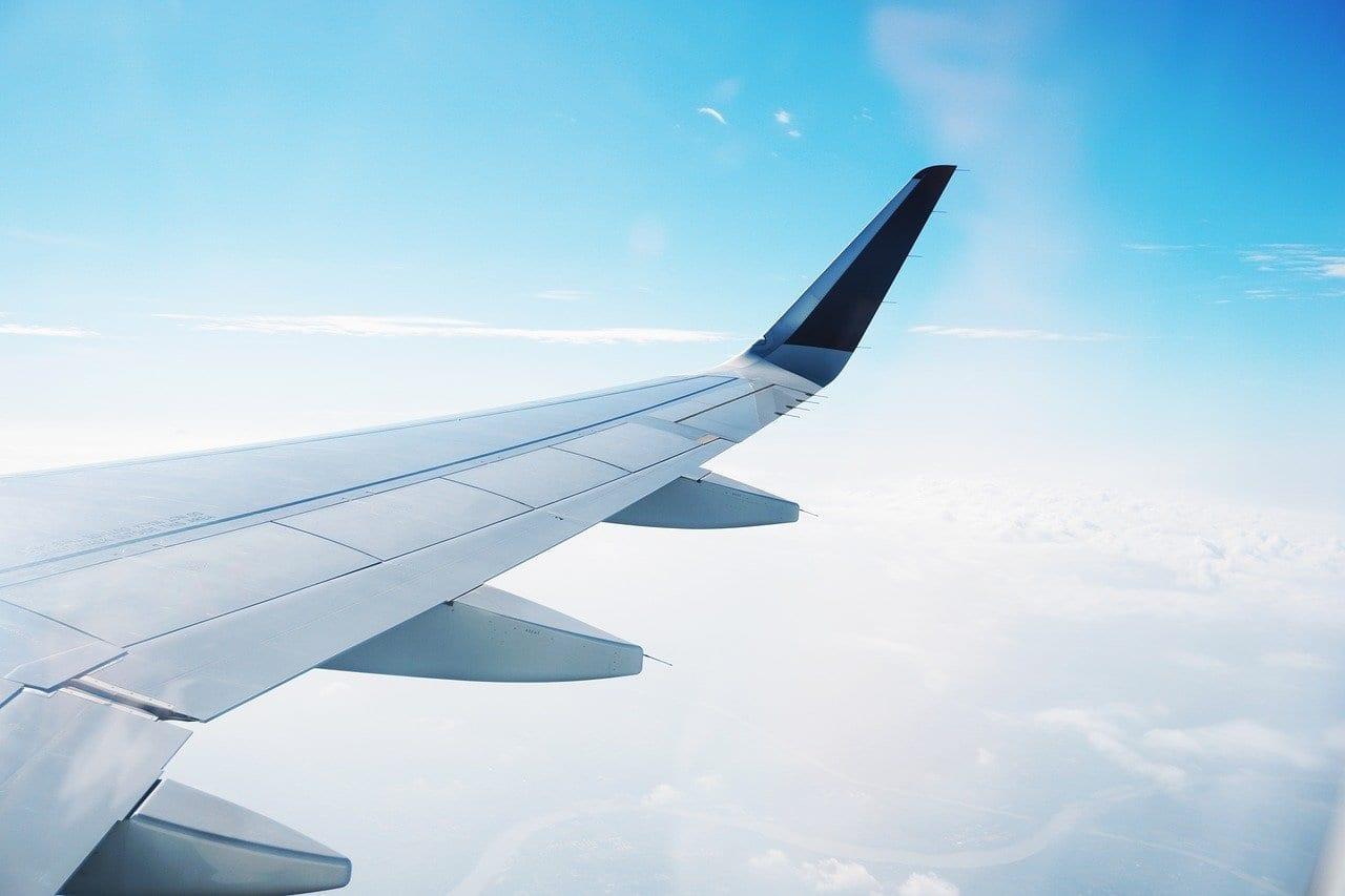 Avión Vuelo Chandigarh India