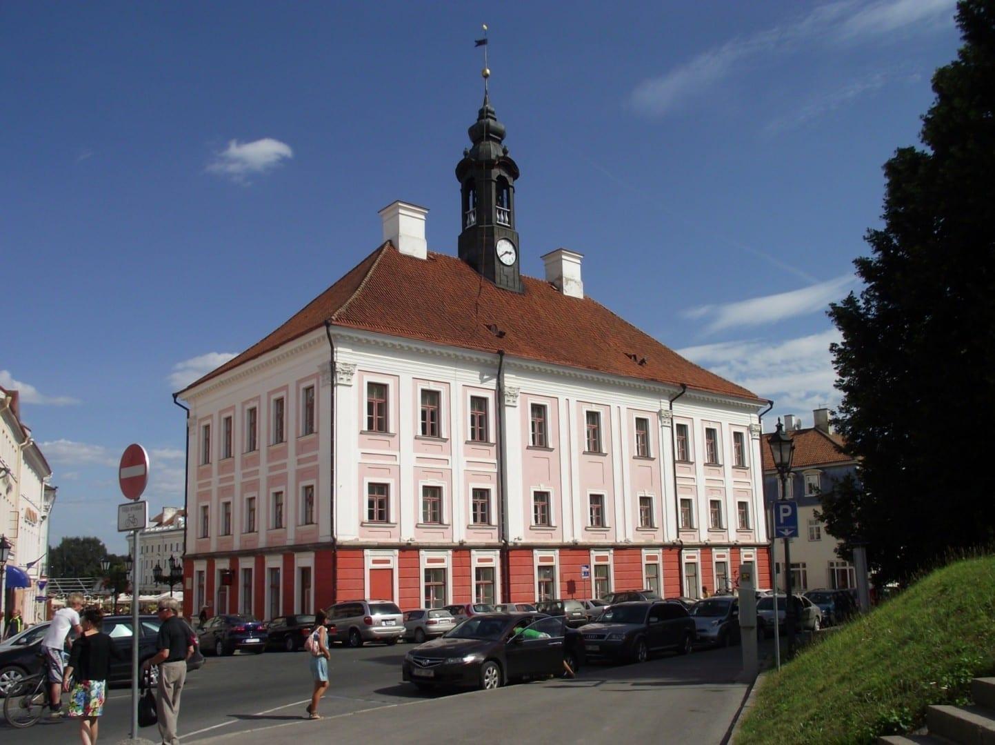 Ayuntamiento de Tartu Tartu Estonia