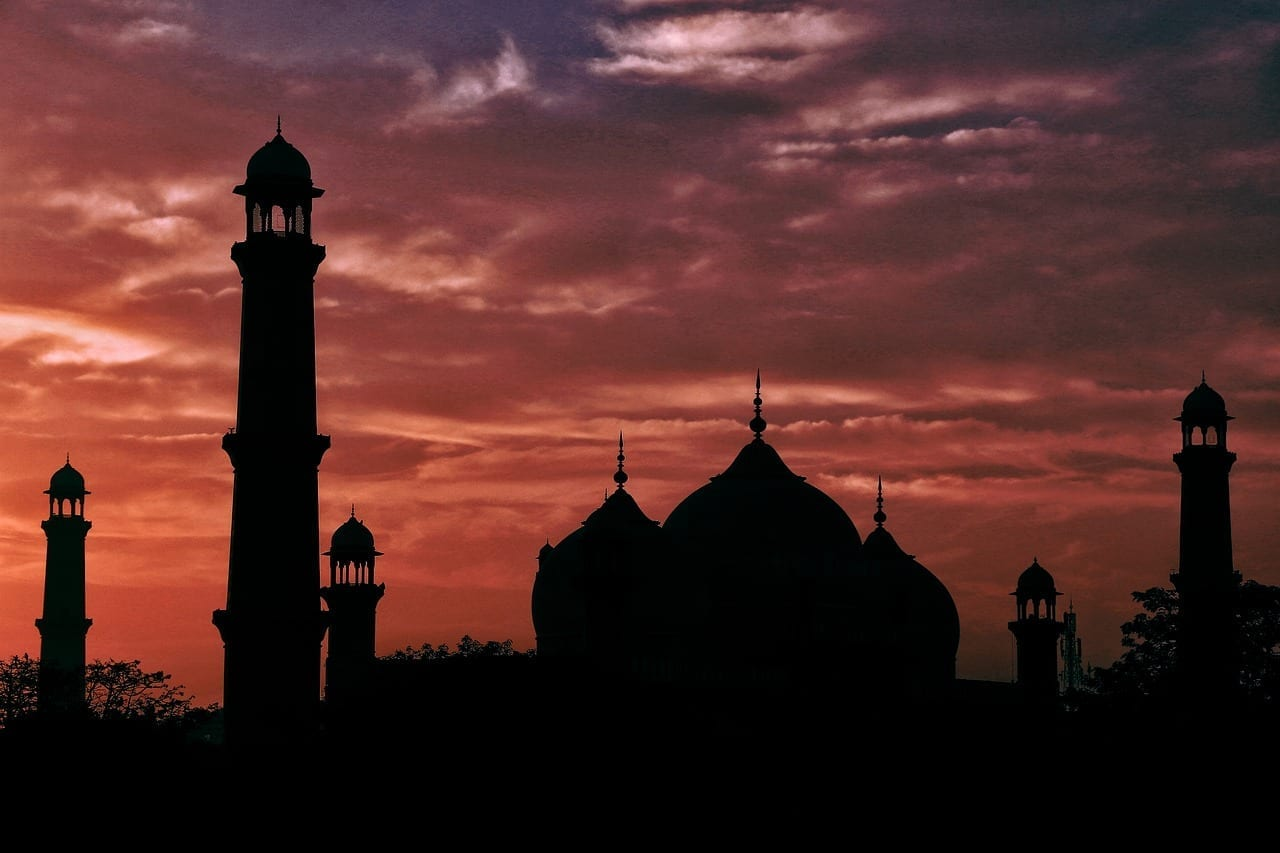 Badshahimosque Lahore Arco Pakistán