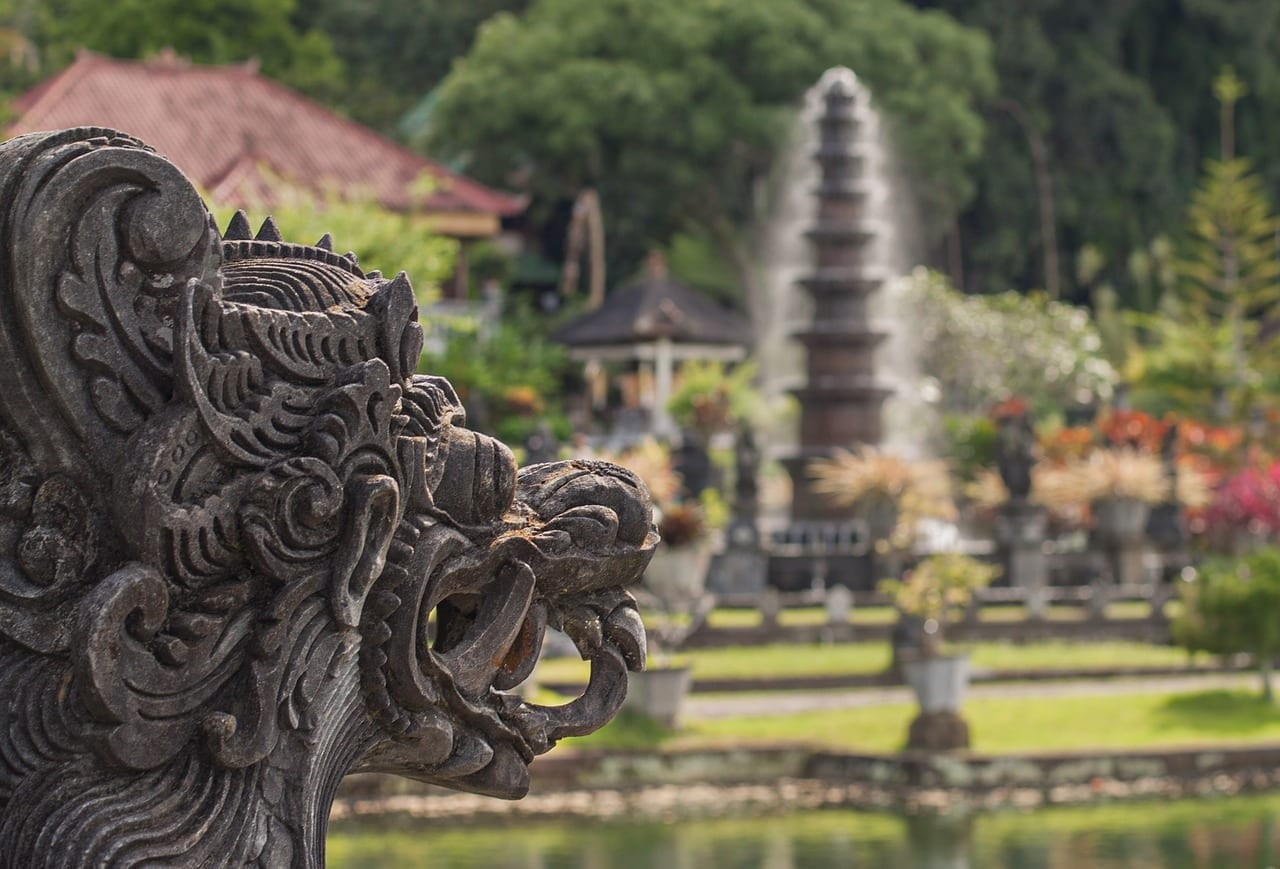 Bali Palacio Del Agua Vacaciones Indonesia