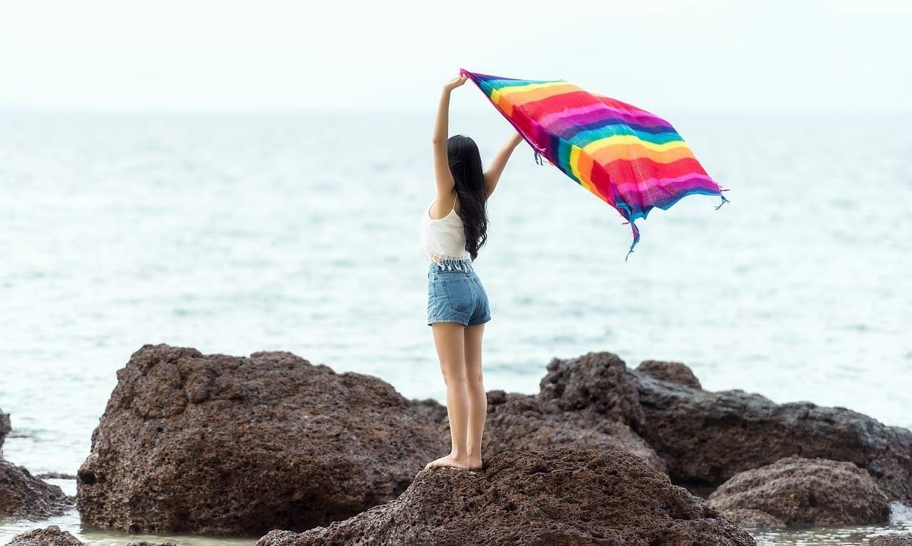 Bali Playa Costa Indonesia
