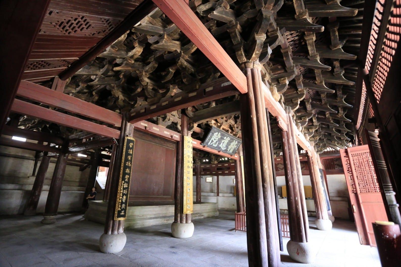 Baoguo Temple (保国寺) Ningbo China