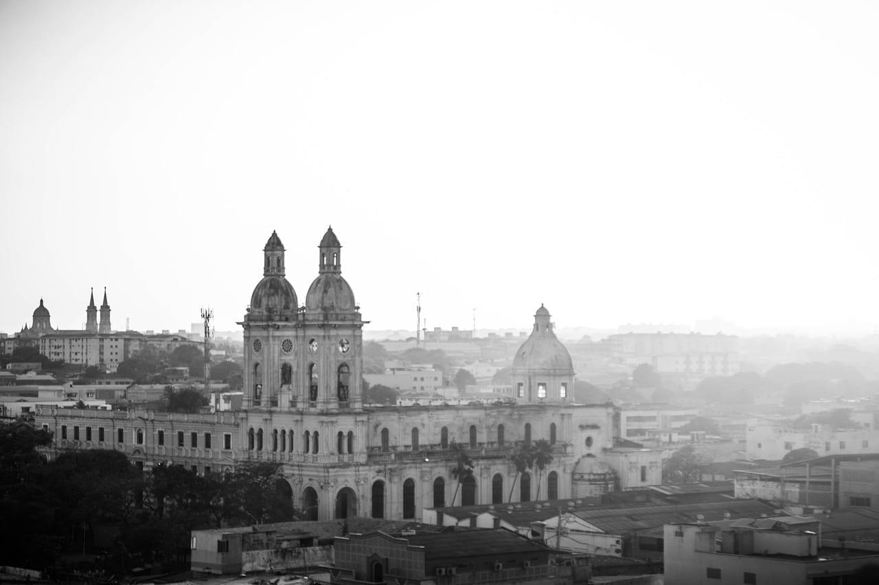 Barranquilla Atardecer Puesta De Sol Colombia