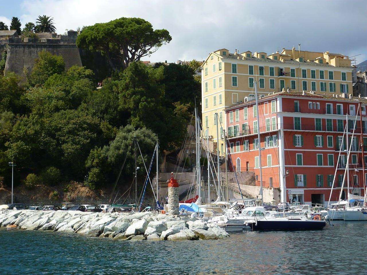 Bastia Córcega Pueblo Francia